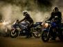 Motocykle w zajeździe
