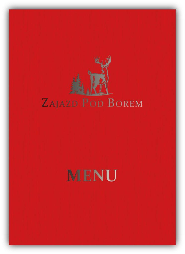 Karta menu Zajazdu